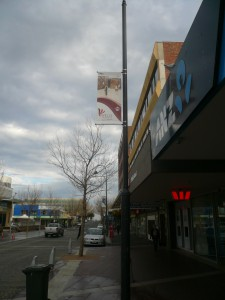 Frankston Council custom banner systems from Intrack