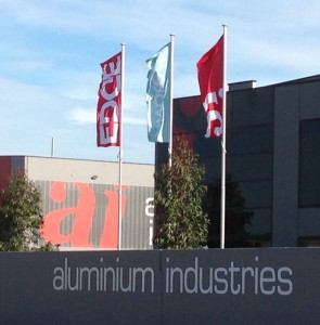 Aluminium Industries flagpoles