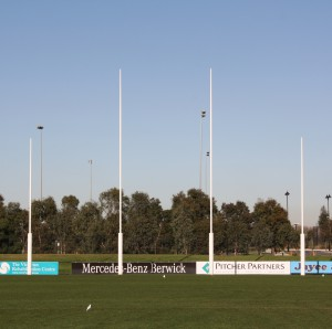 City of Casey goal posts