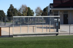 AFL goal posts from Intrack