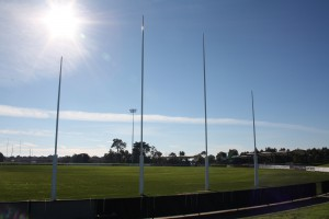 Intrack footy goals