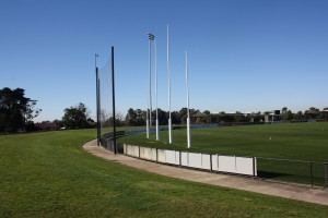 Intrack football goal post project City of Casey