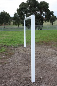 Intrack Soccer goal fabrication