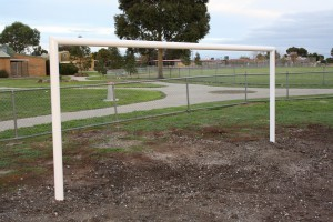 Soccer Goal Posts by Intrack