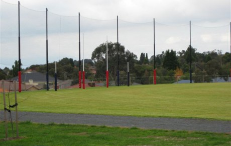 High quality aluminium poles for sport netting.